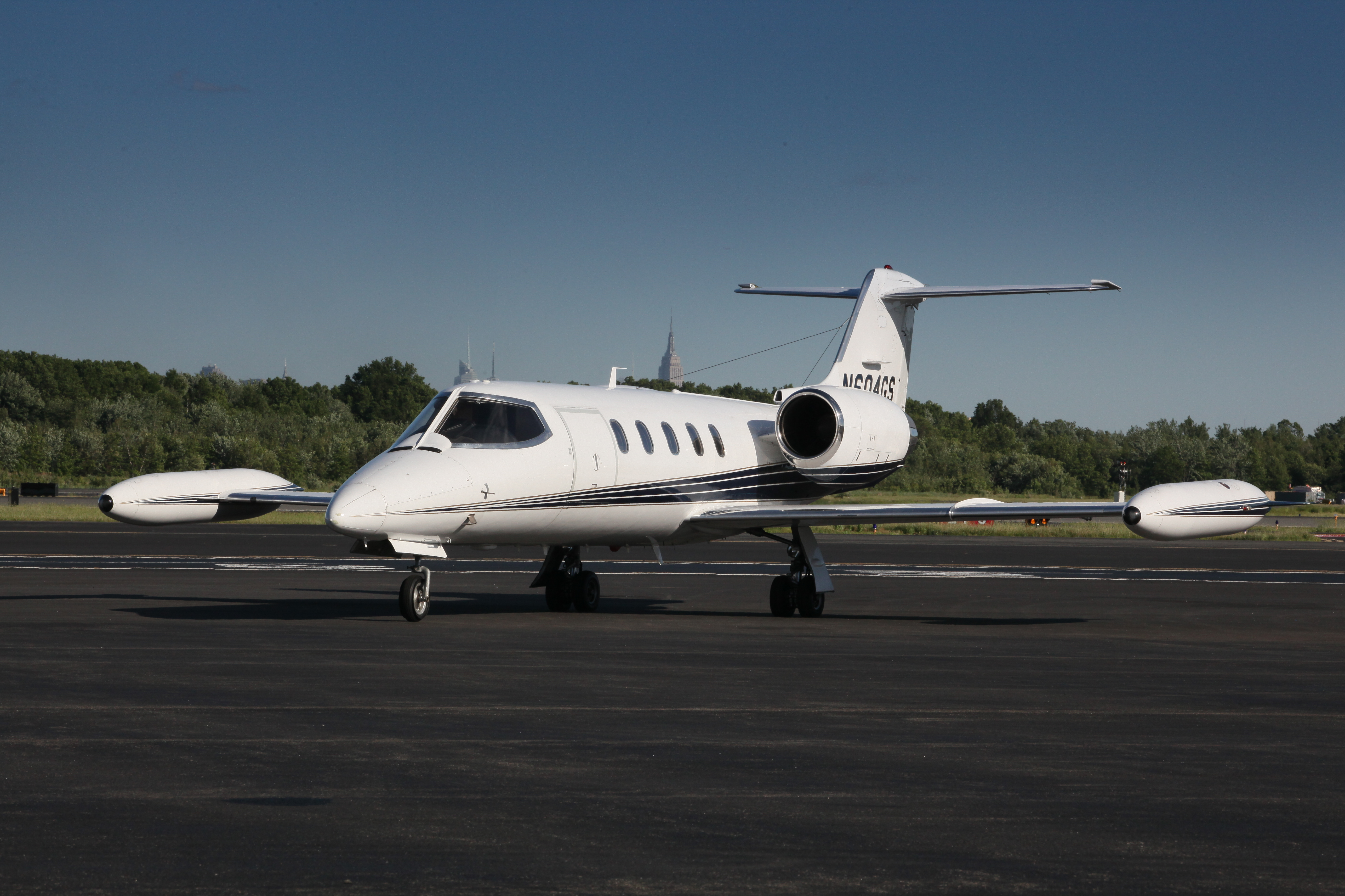 Charter a Learjet35 plane from, private jet rental