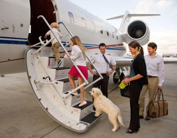 rent a private jet for family vacations